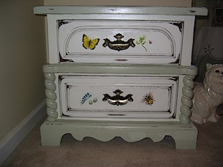 Baby Bedside Table