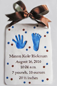 Birth-Statistics-Hand-foot-impression-blue-brown