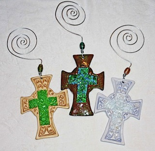 Clay Crosses 1