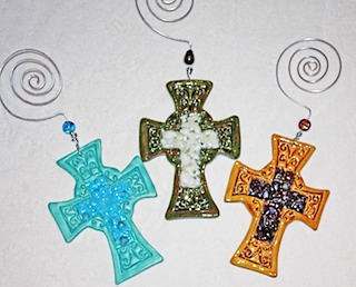 Clay Crosses 3