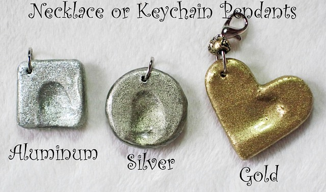 Fingerprint Pendant Charms