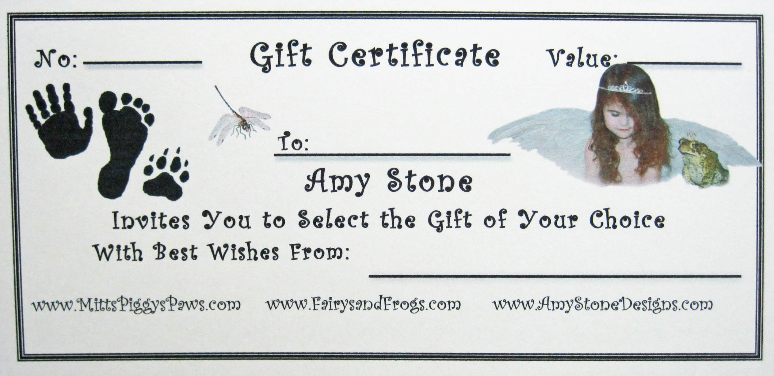 Gift Certificates Make Great Gifts | Amy Stone