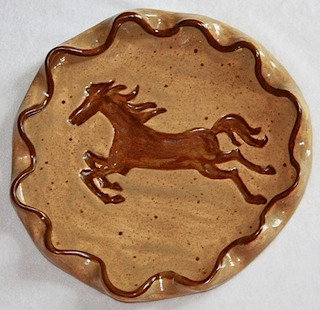 Horse Wavy Plate