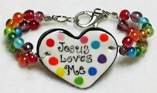 Jesus Loves Me Bracelet