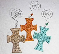 Pottery Crosses 1
