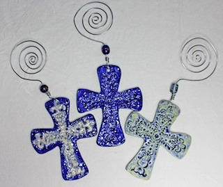 Pottery Crosses 30