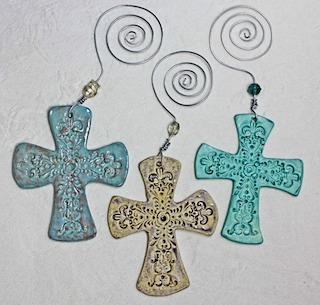 Pottery Crosses 31