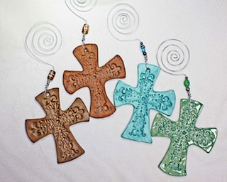 Pottery Crosses 34