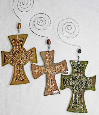 Pottery Crosses 36