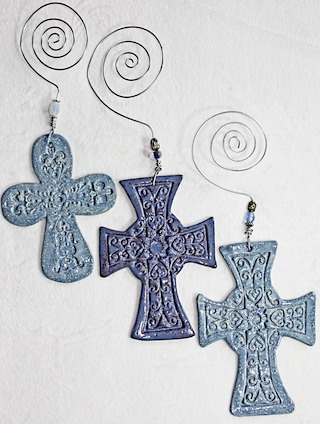 Pottery Crosses 37