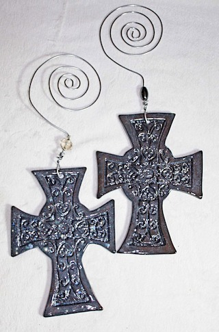 Pottery Crosses 40