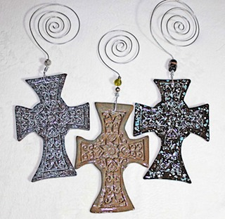 Pottery Crosses 41