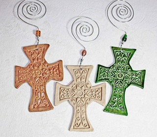 Pottery Crosses 42