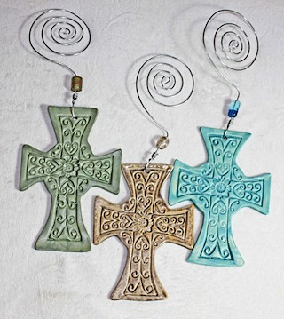 Pottery Crosses 43