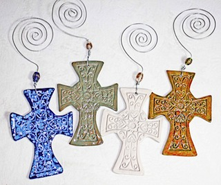 Pottery Crosses 44