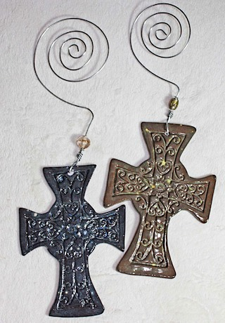 Pottery Crosses 45