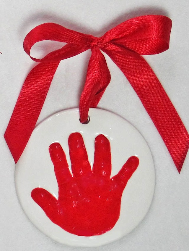 Red Hand Ornament