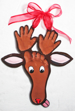 Reindeer-Hand-Foot-Impression