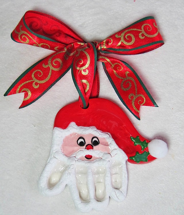 Santa Claus Hand ornament