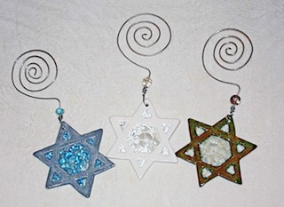 Star of David Ornaments 1