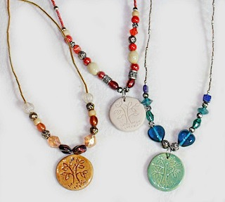 Tree of Life Necklaces Trio Christian Jewelry